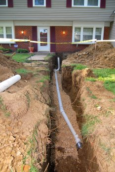 sewer line repair Jacksonville, Florida